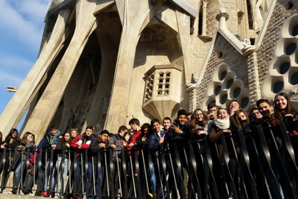 Sagrat Cor- Vic- ESO- 4t Curs- Visita Sagrada Família (11)